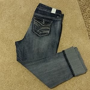 Maurices straight leg jeans. Size 14 with stretch